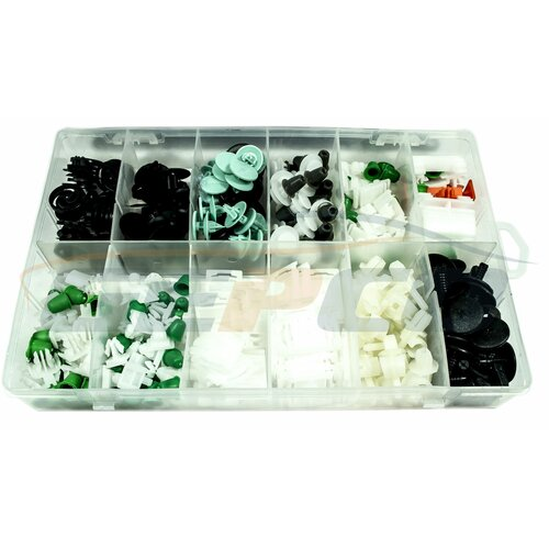 160pc Trim Clip Assortment-AUDI /TÜRVERKLEIDUNG CLIPS und...