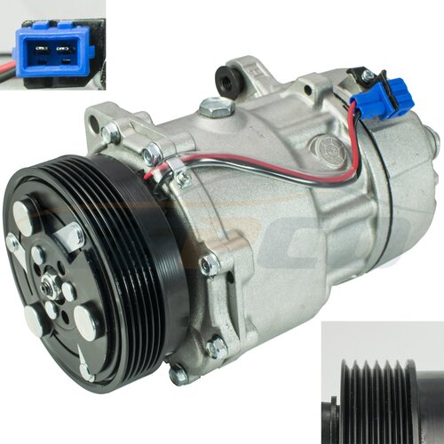 Air Compressor AC A/C Compressor Air-conditioning AUDI A3...