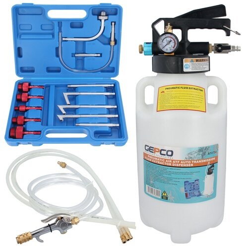 6L Air Powered Oil Removing & Filling Tool Ford VW Audi...