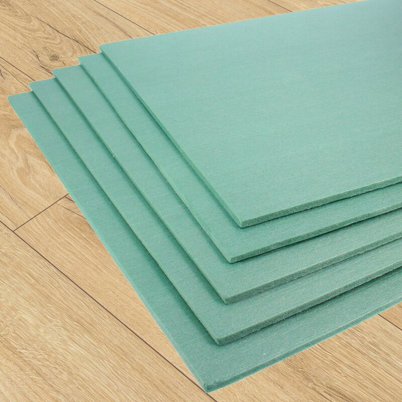 5-200 m² XPS Foam Underlay Insulation 5mm Thick fits Wood or Laminate Flooring