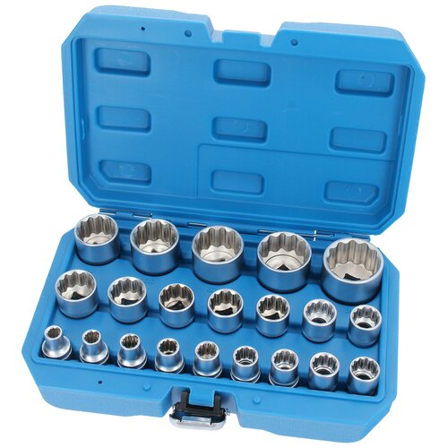 Socket Wrench Set 12-point 12.5 mm 1/2 Drive 8-36 mm 21...
