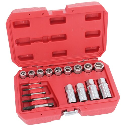 Screw and Stud Extractor Remover Set for Rounded Damaged...
