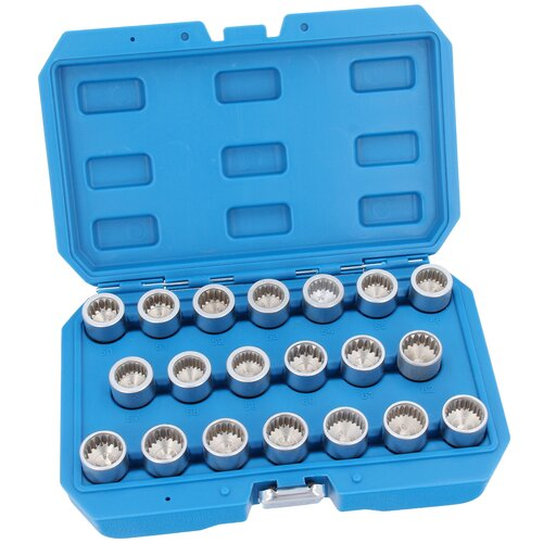 Wheel Nut Lock Key Socket Set Anti-theft Removal Tool for...